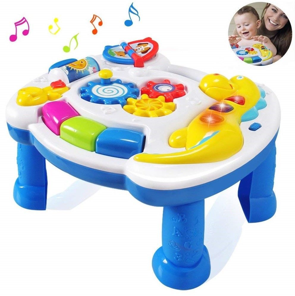 Musical Educational Baby Toys 6 12 Months Cartoon Kids Christmas