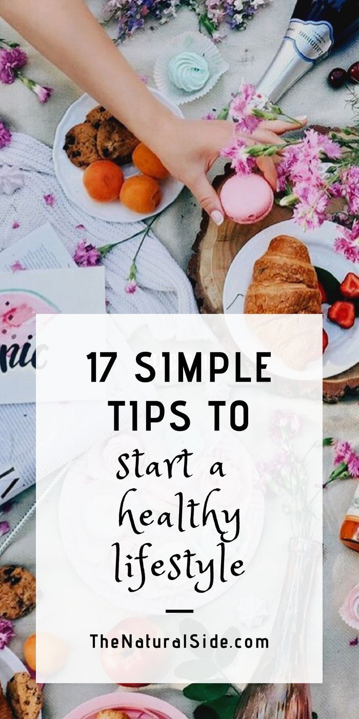 Ultimate Healthy Lifestyle Guide: 17 Simple Steps to Begin Now 17 Simple Tips To Start a Healthy Lifestyle. Living a healthy lifestyle is not tough. Here are 17 tips for healthy lifestyle, healthier lifestyle, holistic lifestyle, wellness.17 Simple Tips To Start a Healthy Lifestyle. Living a healthy lifestyle is not tough. Here are 17 ti...