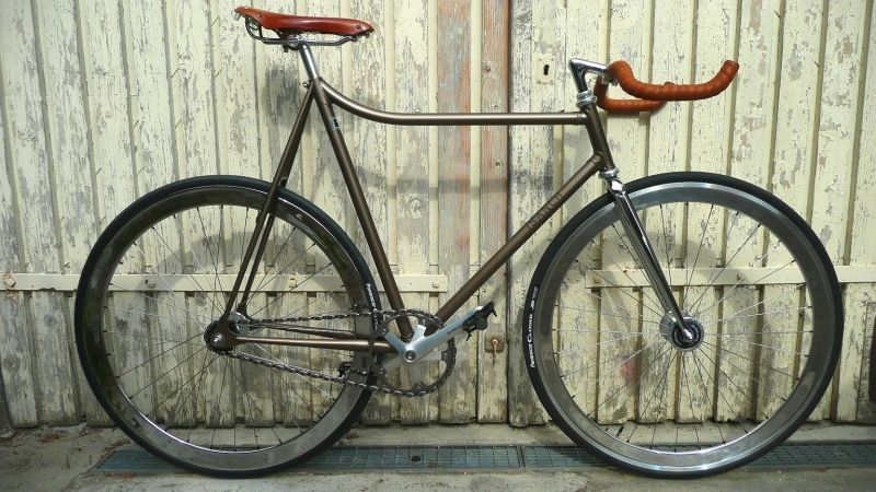 Street Piste (Dura Ace special Edition),  pursuit fixed gear bike