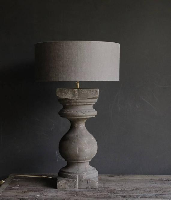 lamp oude baluster aura peeperkorn interieur kreative diy m bel. Black Bedroom Furniture Sets. Home Design Ideas