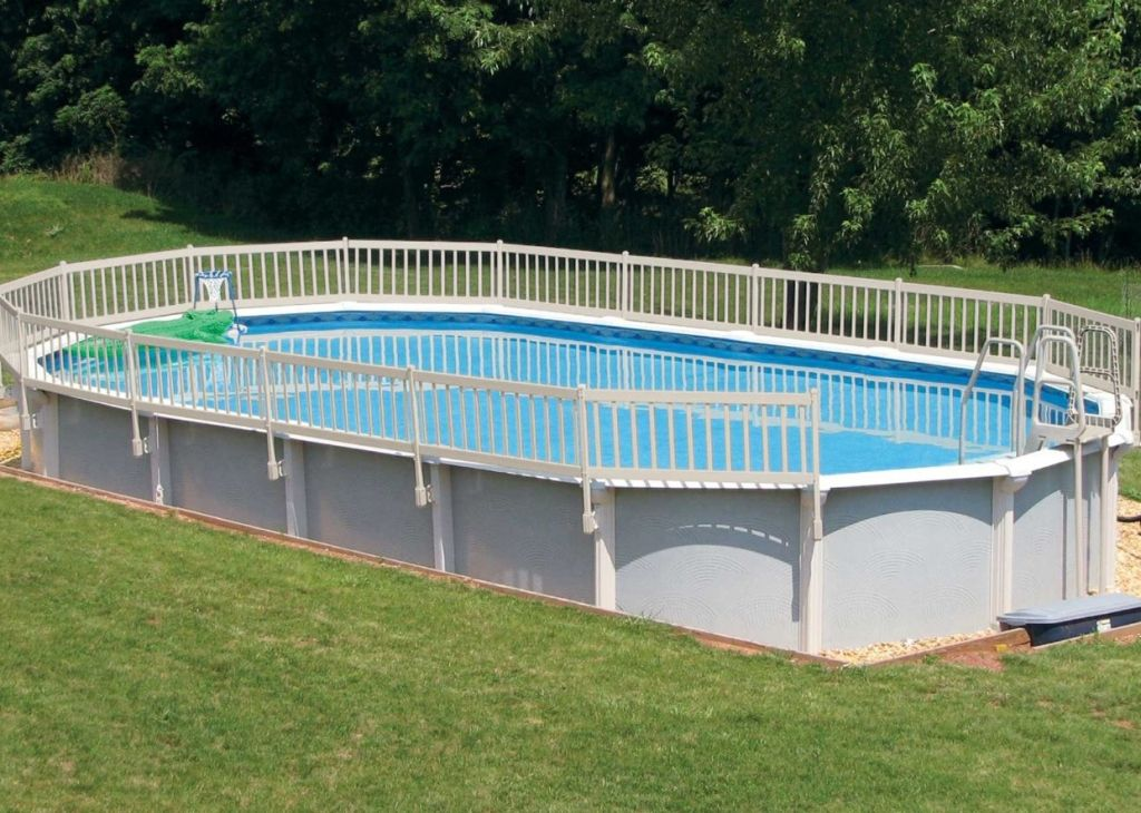 Exterior amazing above ground pool fence kit from good