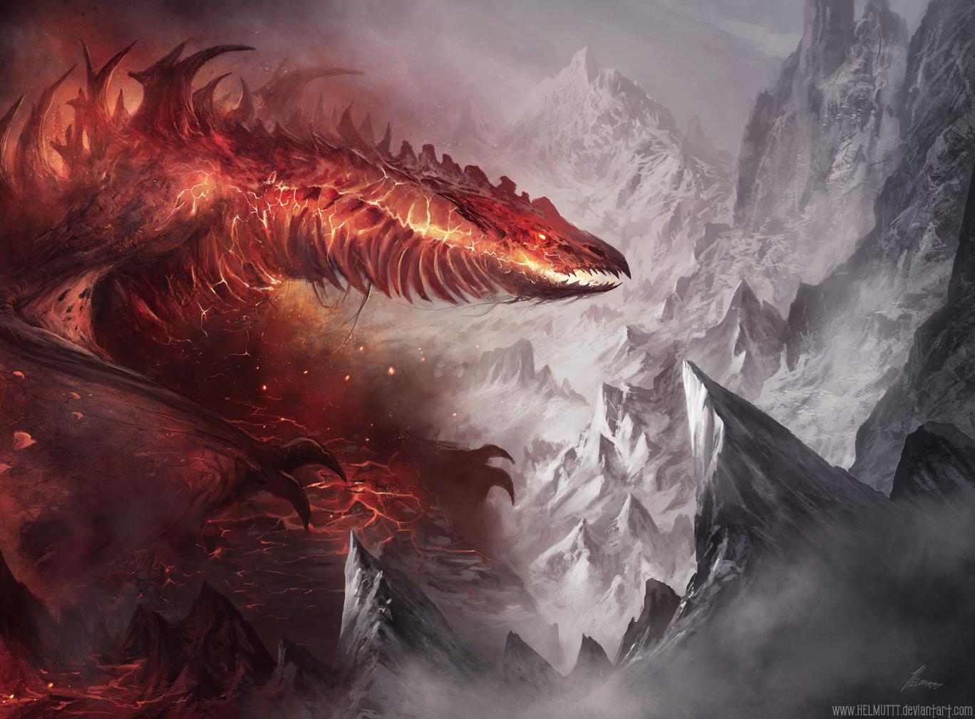 Epic dragon wallpaper dump - Album on Imgur