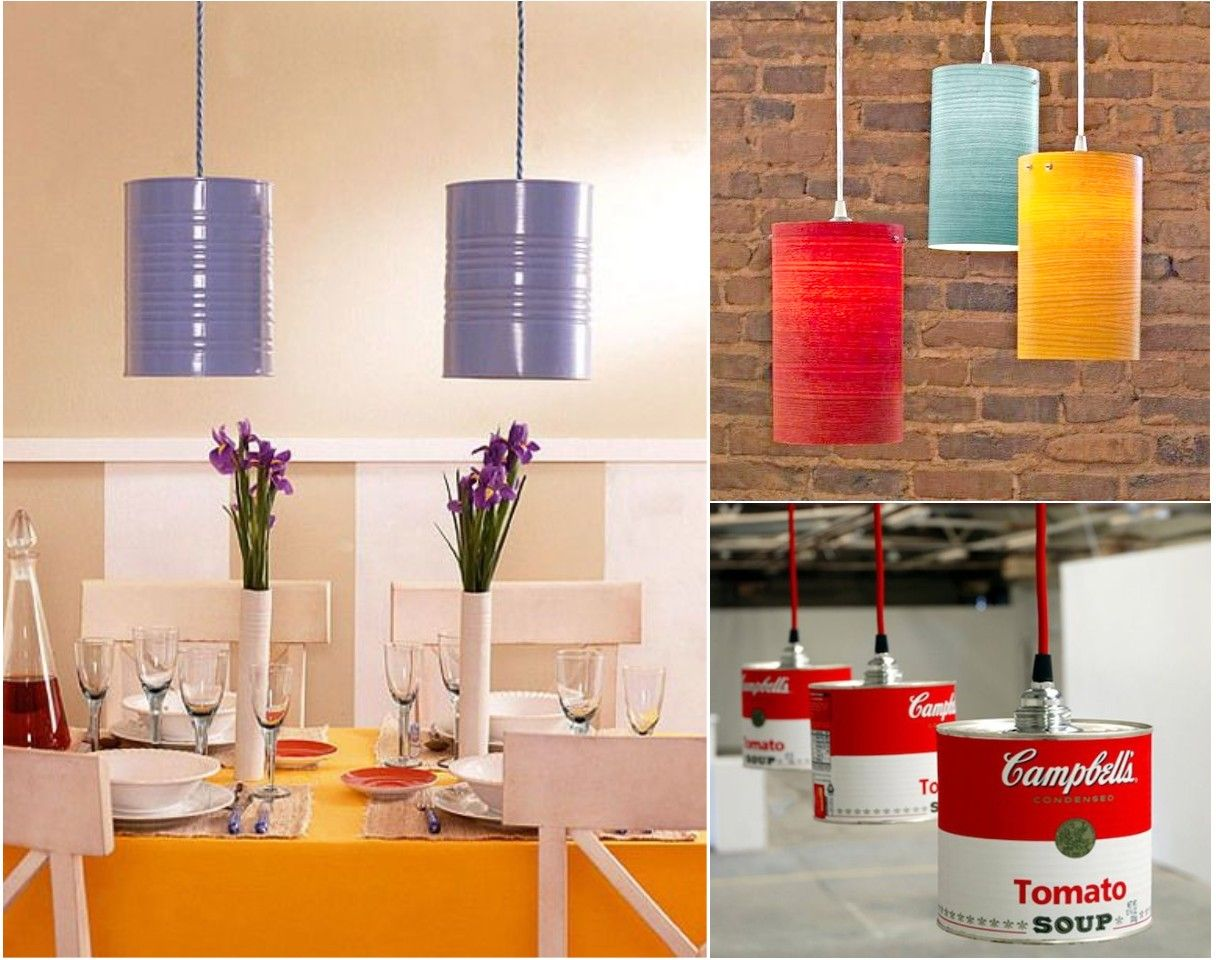 10 Ideas originales de reciclar para decorar con lámparas | Reciclar ...