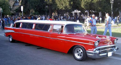 Bel Air 1957 Chevrolet Limousine