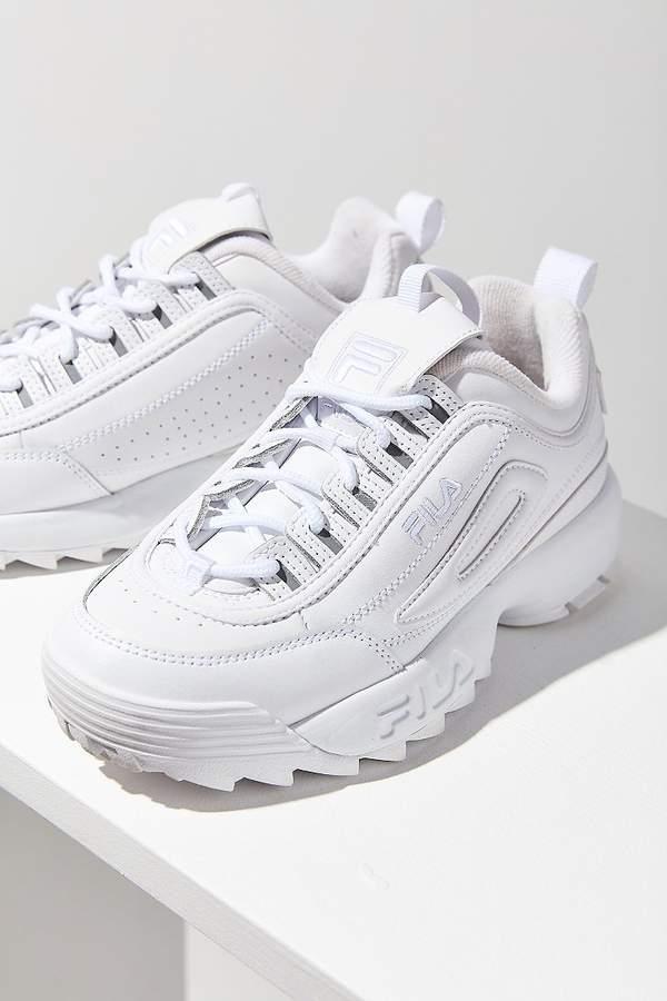 8302b09d9b3 FILA Disruptor 2 Premium Mono Sneaker Tênis Branco Feminino