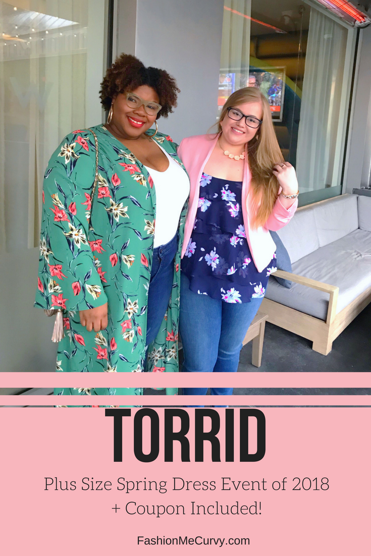 e48e6943779 Torrid Plus Size Spring Dress Event of 2018