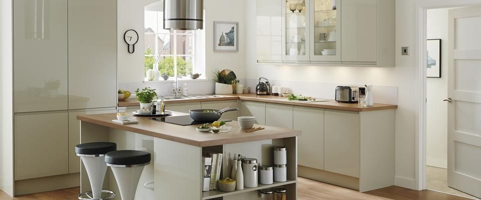 Kitchen Ideas Howdens greenwich gloss flint grey | new house | pinterest | kitchens