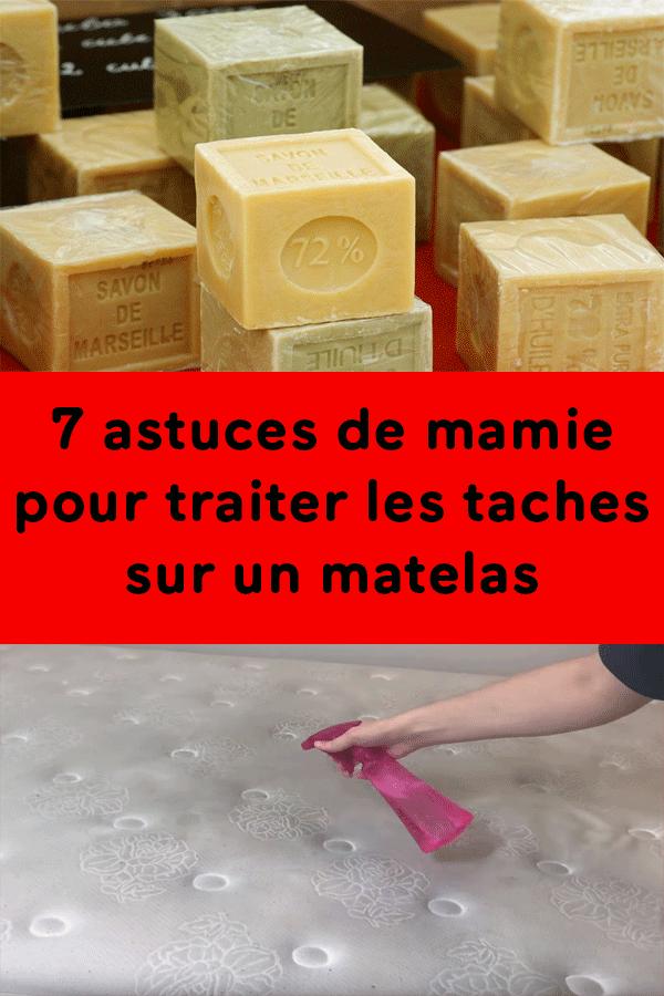 7 astuces de mamie pour traiter les taches sur un matelas - Comment enlever tache sur matelas ...