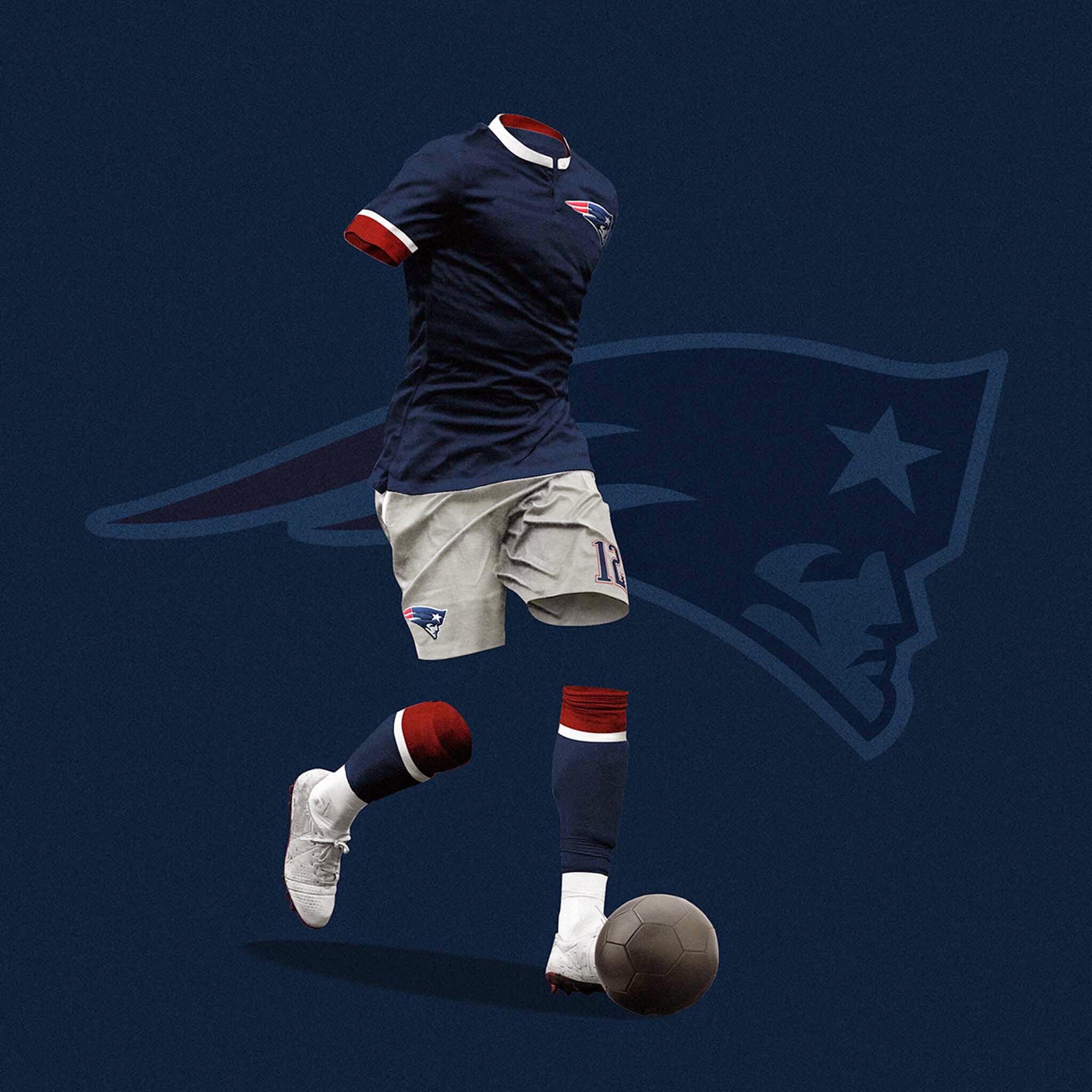 f1a20279dbd New England Patriots soccer uniform | Boston: My Home | Soccer ...