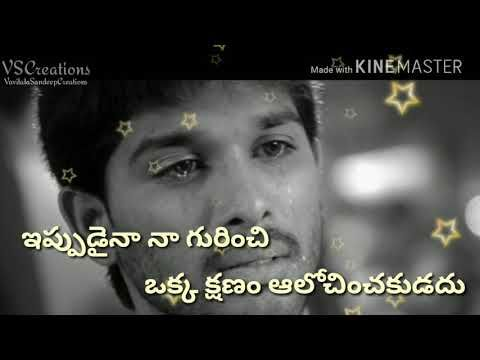 whatsapp status love failure videos in telugu download