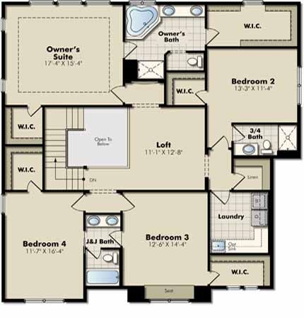 Washburn New Home Plan In Enclave Enclave Landmark New House Plans New Homes Lennar
