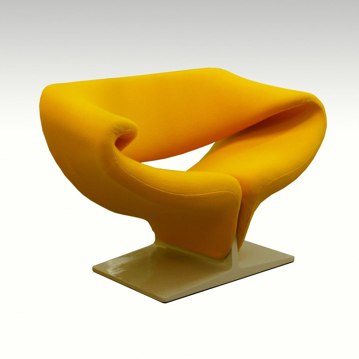 Captivating Pierre Paulin Ribbon Chair