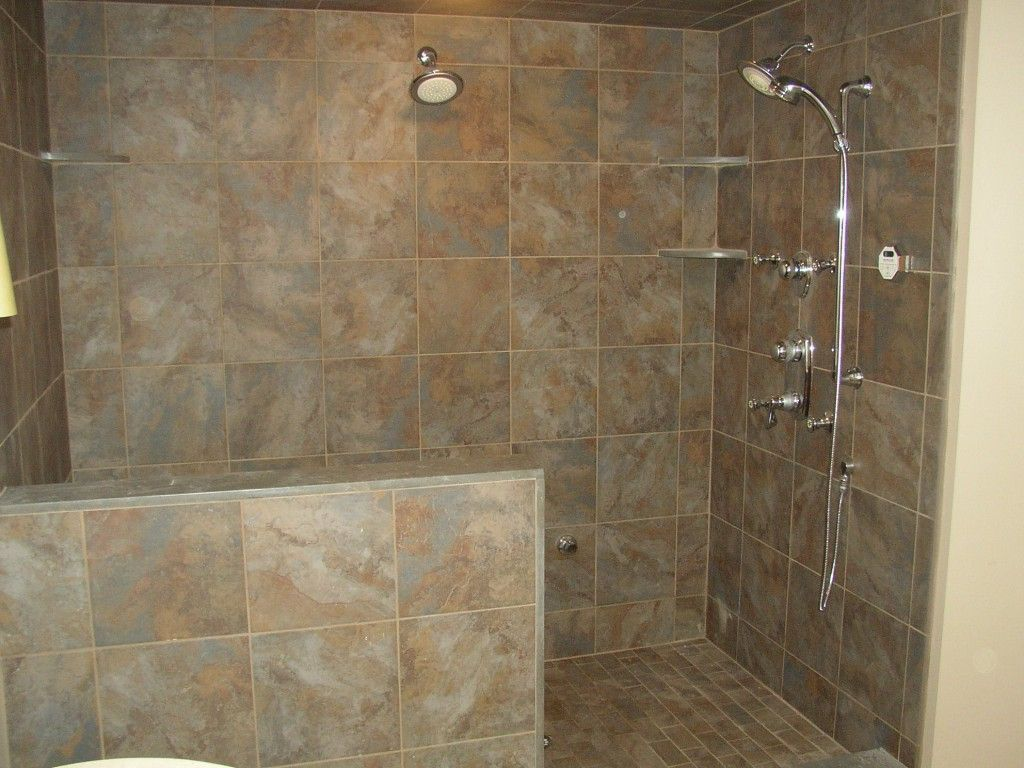 Nicely Bathroom With Doorless Shower Designs Barrier Free Access Bathroom With Doorless Shower Designs C Shower Remodel Doorless Shower Bathroom Wall Colors