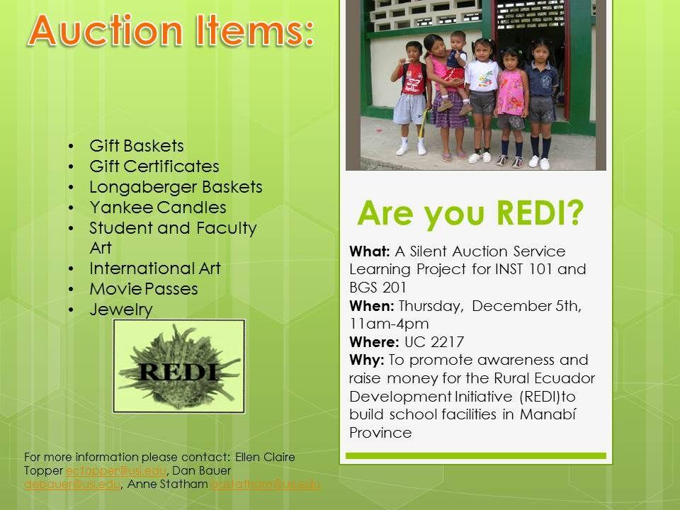 REDI Auction