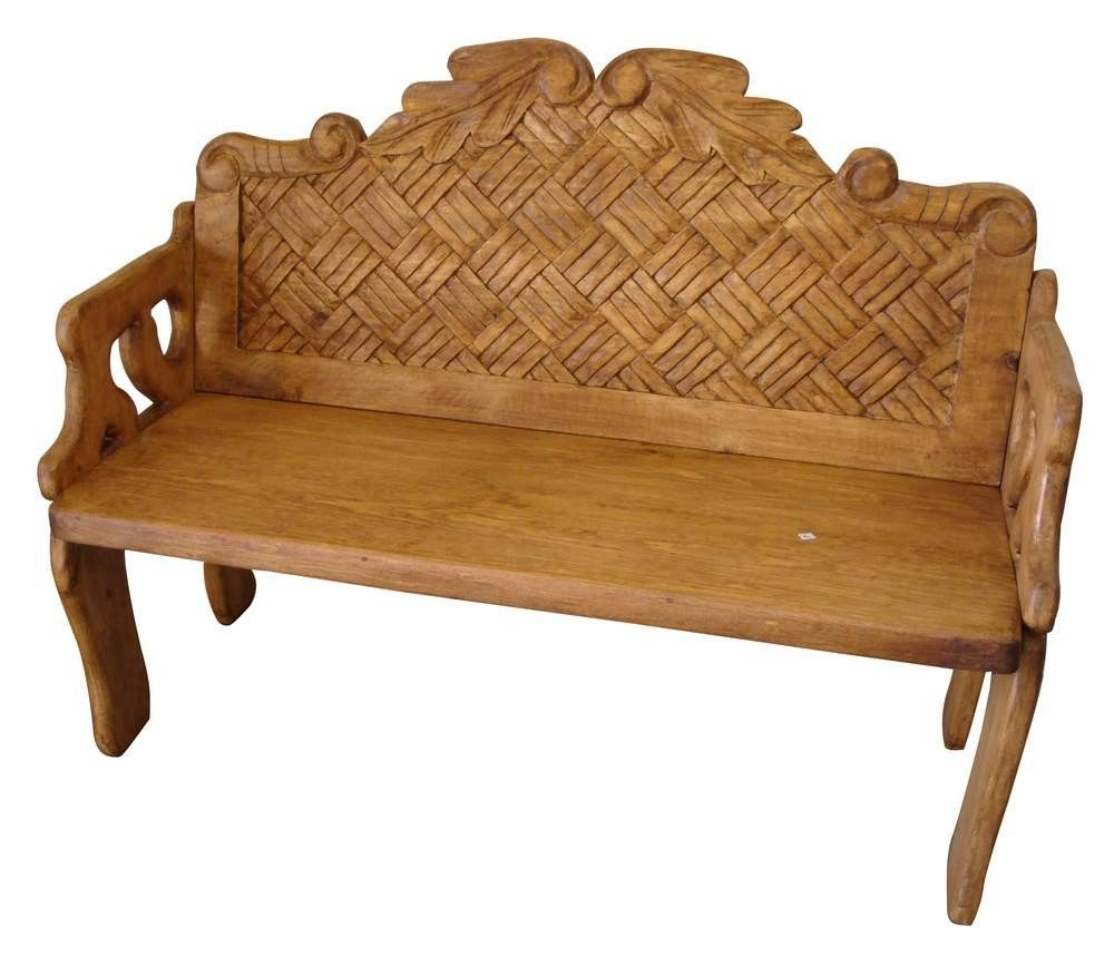 Woven Mexican Bench Style Furniture Home Decor Furniture By  # Muebles Cayambe