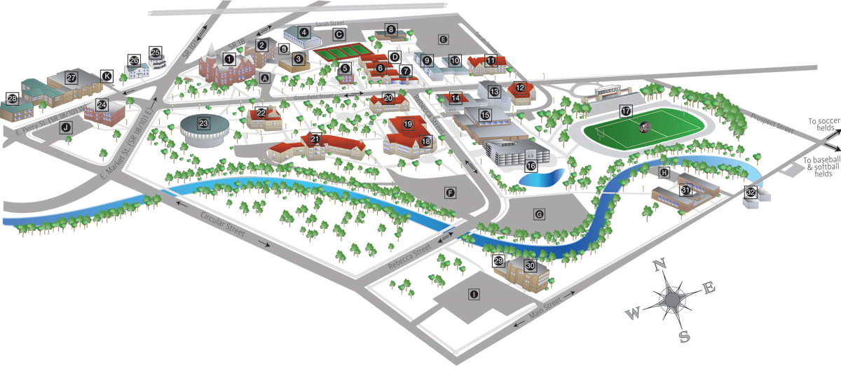 Heidelberg University Campus Map.Campus Map Of Heidelberg University Wayfinding Map Pinterest