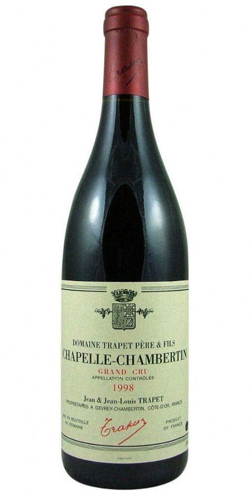 Chapelle Chambertin Grand Cru Trapet Pere Et Fils Wines
