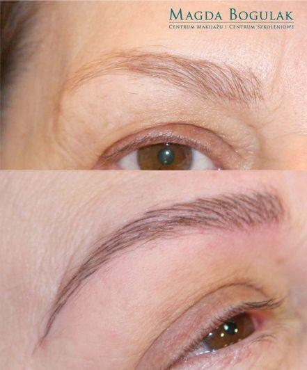 Makijaż Permanentny Brwi Metodą Włoskową Makijaż Permanentny Brwi