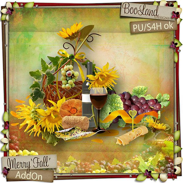 Merry Fall Add On Pack by #Booland Designs $3.47