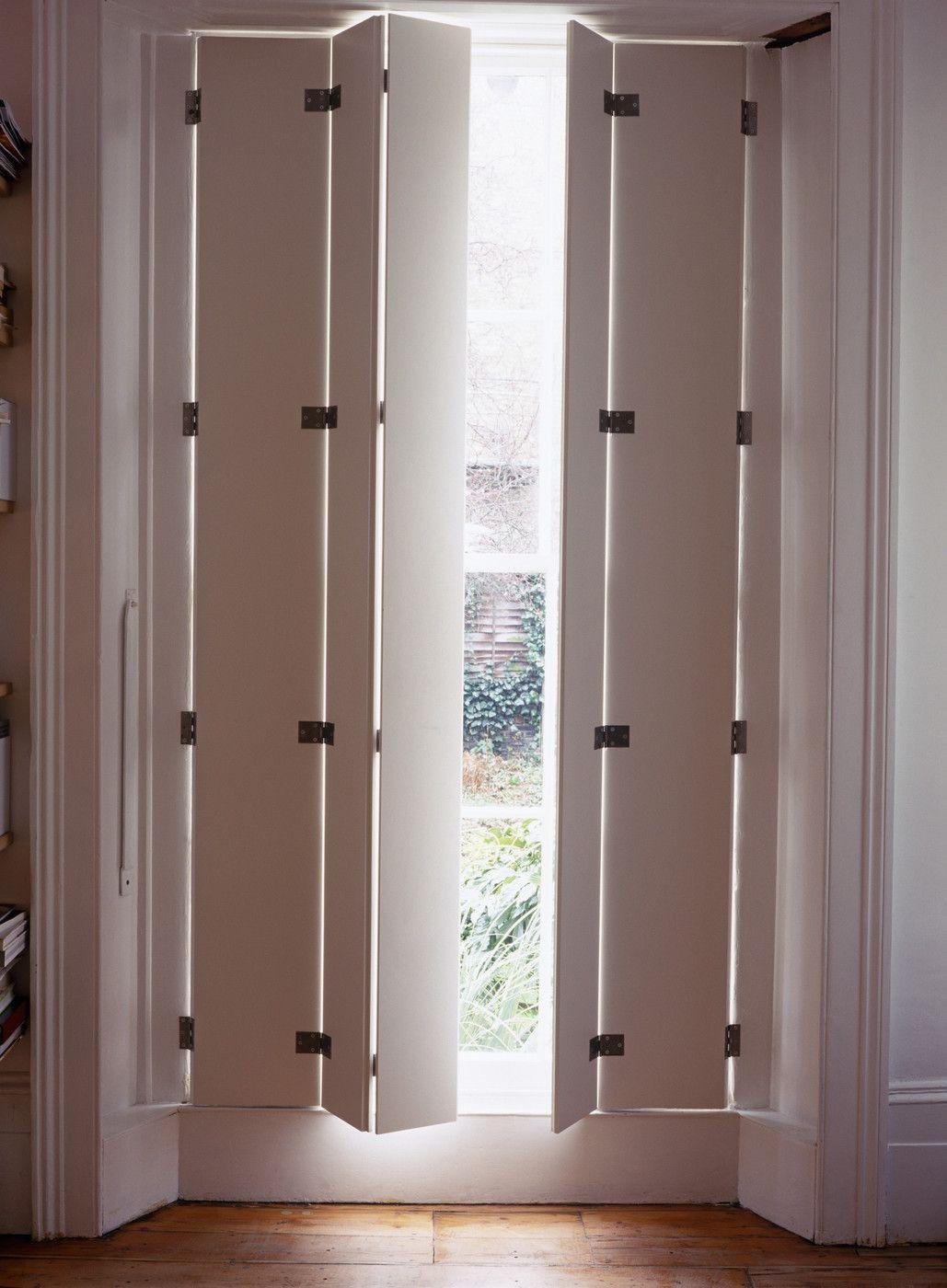 Closed shutter photos modern interior shutters indoor