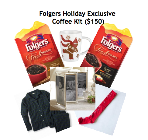 Enter to win Folger's Holiday Kit!