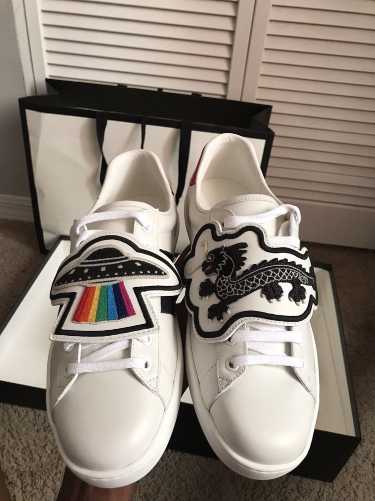 e74ddaed8 Gucci Ace sneaker with removable patches #fashion #clothing #shoes  #accessories #mensshoes #casualshoes (ebay link)