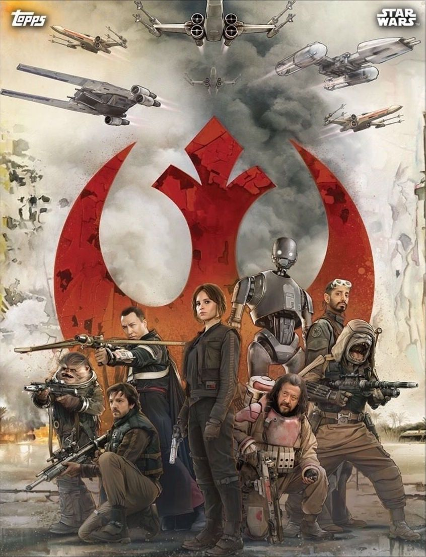 Rogue One Russian Poster And Topps Cards Character Images Star Wars Poster Star Wars Artwork Star Wars Wallpaper