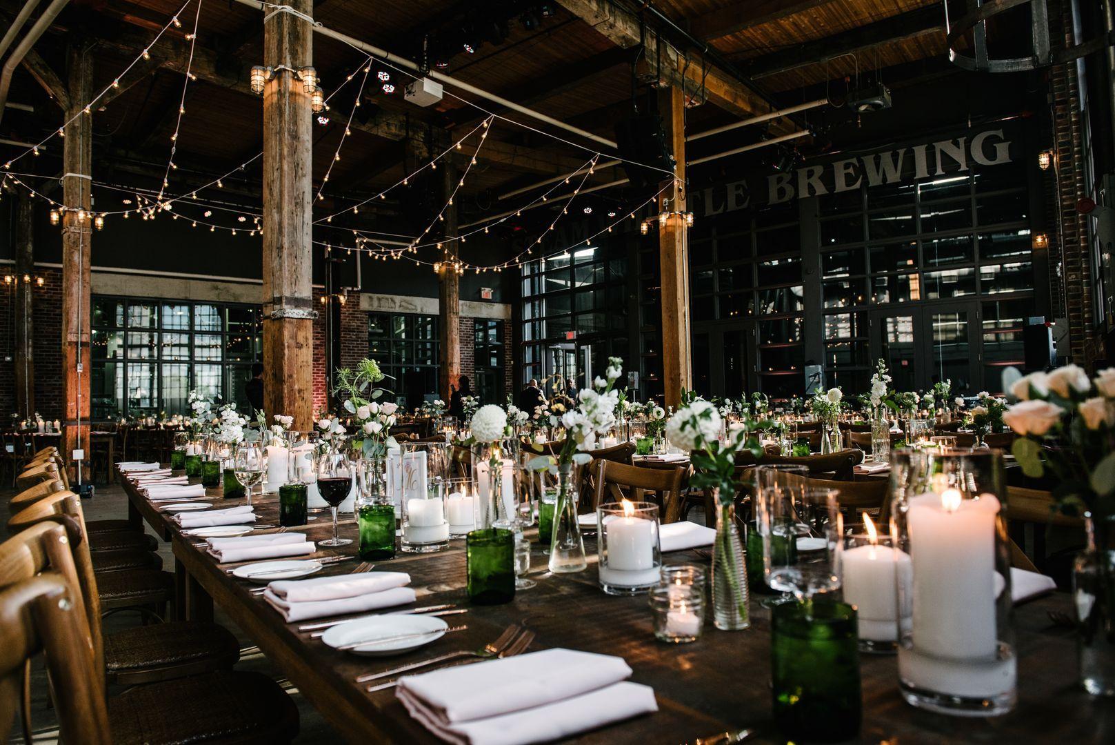 Steamwhistle Brewery Toronto wedding, Brewery wedding