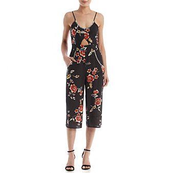 Eyeshadow® Floral Jumpsuit