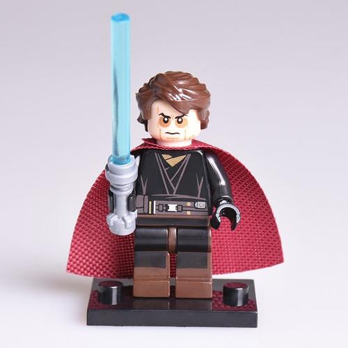 01bigbricks Anakin Skywalker Star Wars Minifigure Lego Star Wars Diy Kids Toys Star Wars Diy