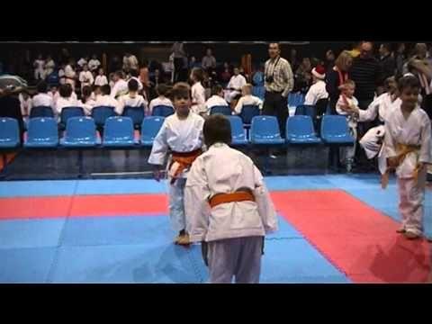 The Santa's Claus Tournament Children in Traditional Karate - Lublin 2013, Karen Dobrowolska Poland - http://karatehq.net/the-santas-claus-tournament-children-in-traditional-karate-lublin-2013-karen-dobrowolska-poland/