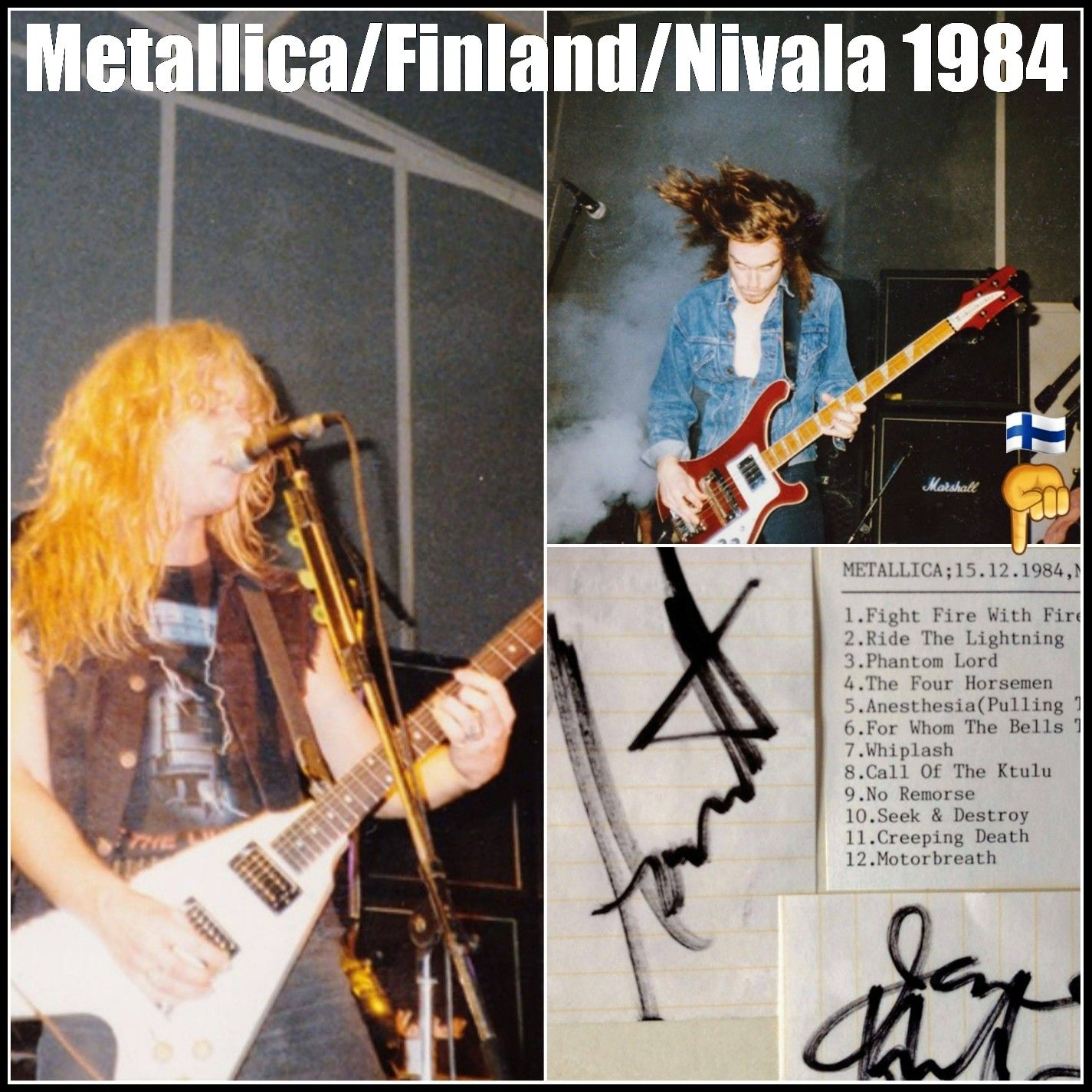 Metallica Suomi