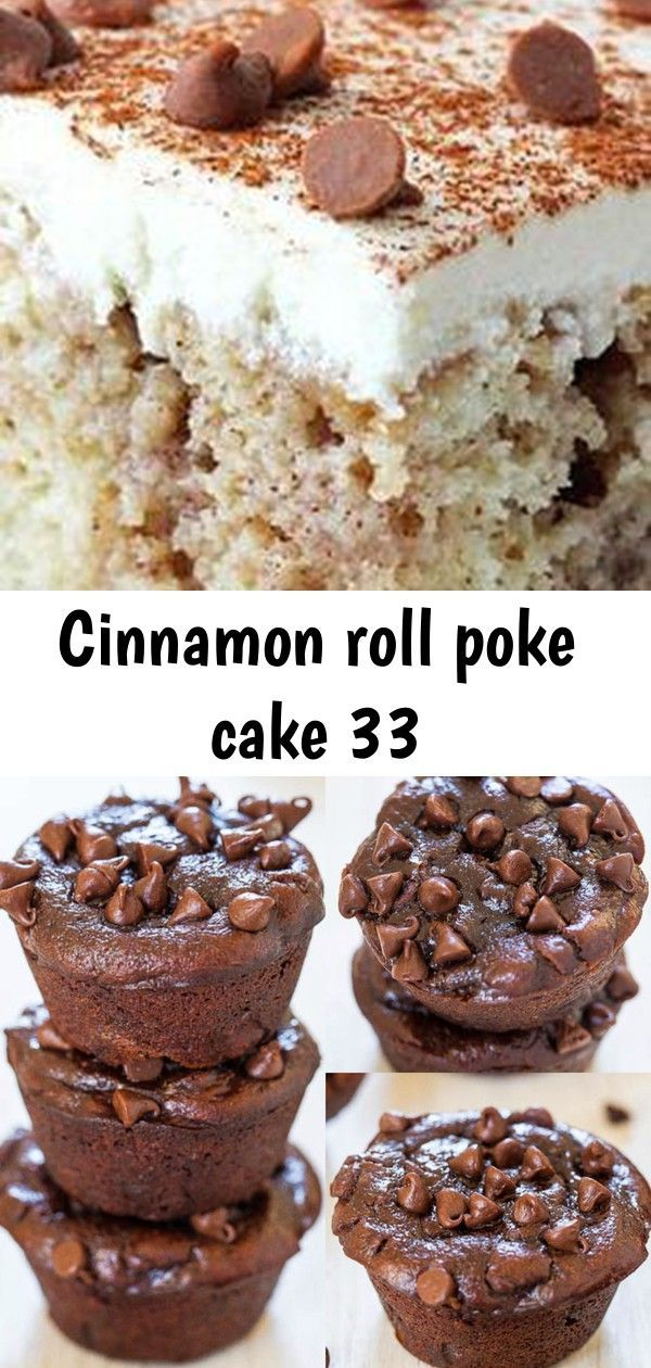 Cinnamon roll poke cake 33 #cinnamonrollpokecake Cinnamon Roll Poke Cake | best desserts. comfort food recipes. Fall recipes. Fall desserts Flourless Double Chocolate Peanut Butter Mini Blender Muffins ❤️ #cinnamonrollpokecake
