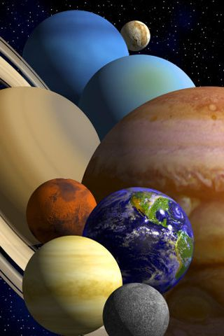 Our Solar System Android Wallpaper HD