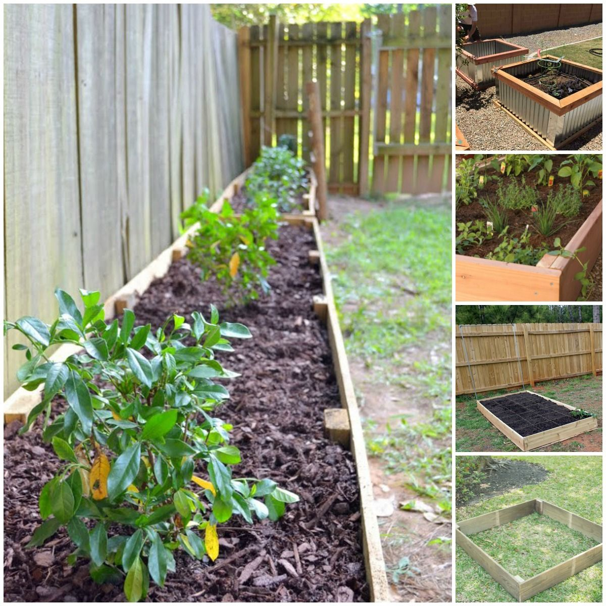 Easy Landscaping Ideas You Can Try: 20 Brilliant Raised Garden Bed Ideas You Can Make In A