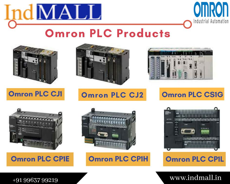 IndMALL Offer OMRON Programmable Logic Controller (PLC) Products In