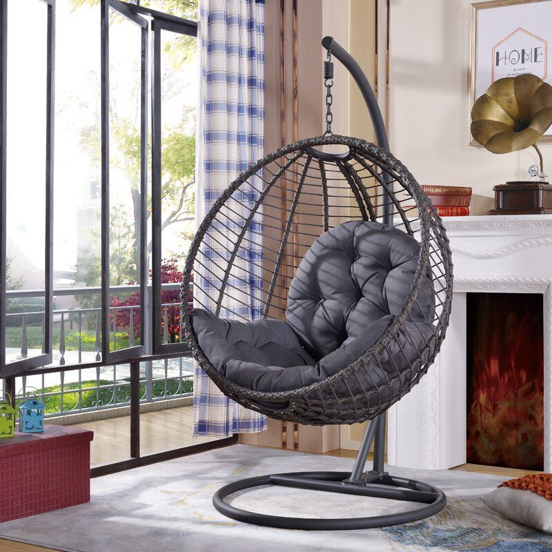 Shania Swing Chair With Stand In 2021 Hanging Chair With Stand Hanging Chair Swinging Chair