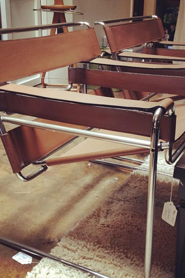 Vintage Wassily Chairs Wassily Chair Breuer Wassily Chair