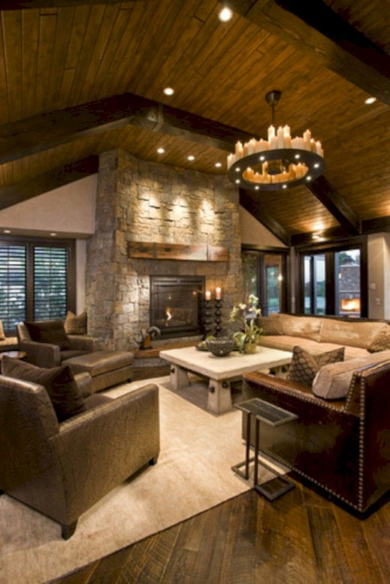 30+ Pretty Masculine Living Room Design Ideas - Page 13 of ...