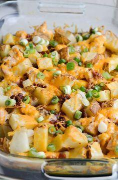 Loaded baked potato casserole images