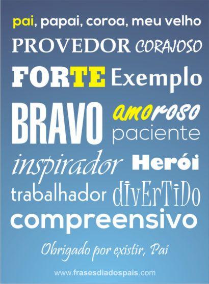 Frases Criativas Para O Dia Dos Pais Frases 3 Pinterest Pai