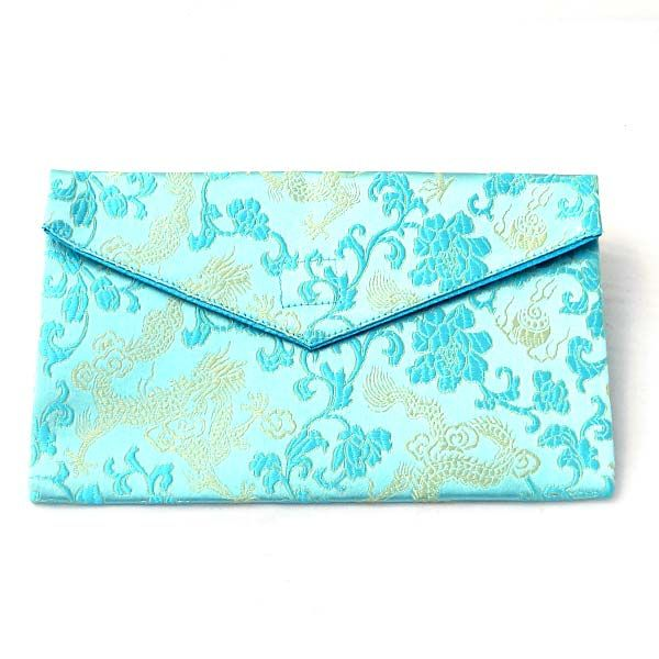 Bead pouch - turquoise