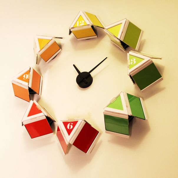 This clock can enhance the color for child's room. do you want one?