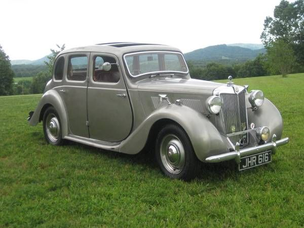 1952 Mg Yb Saloon For Sale On Craigslist Wheels Antique Cars