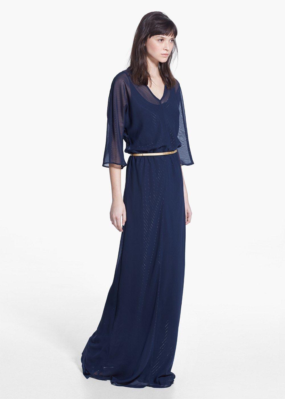 Robe longue à ceinture - Femme   Look   Pinterest   Dresses, Gowns ... 387de1722cee