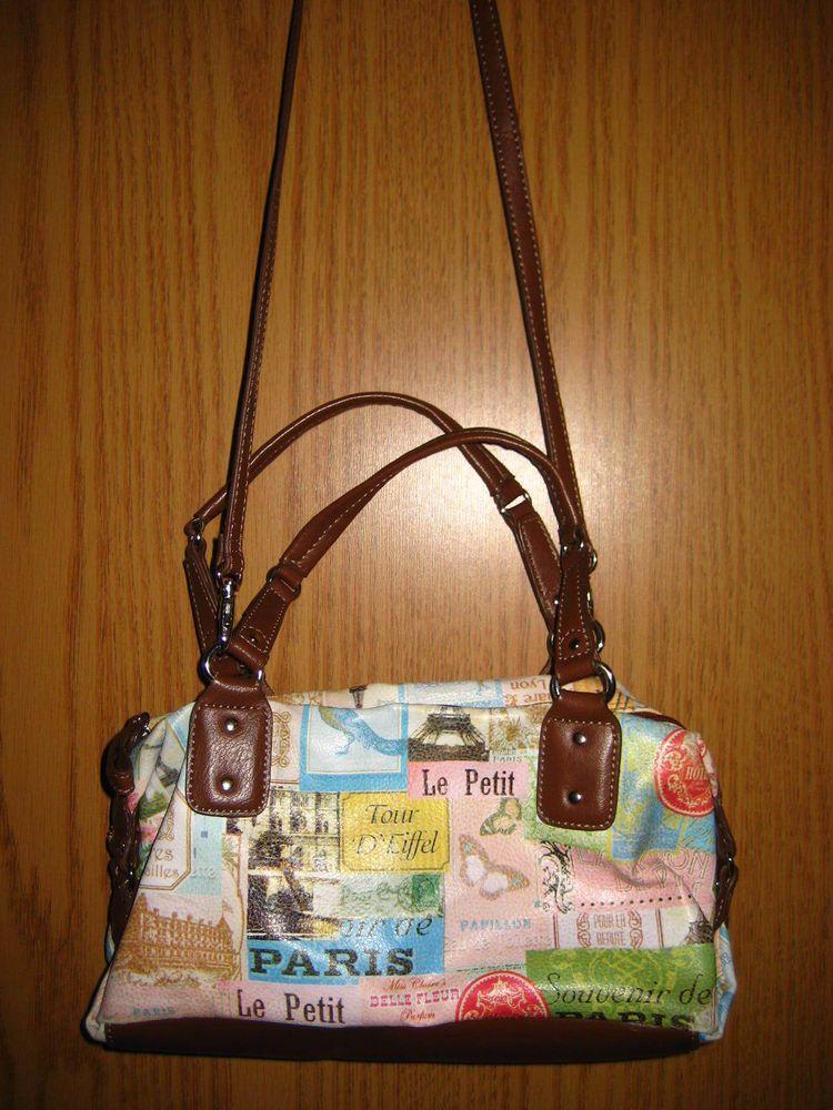 Relic Paris Tour D' Eiffel Le Petit Cross Body Shoulder/Hand Bag Purse #Relic #MessengerCrossBodyHandbag