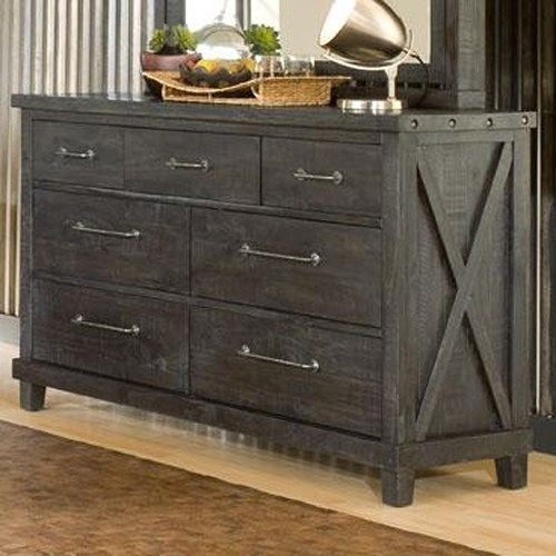 Yosemite 7 Drawer Rustic Dresser By Modus International In