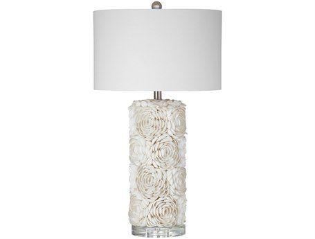 Bassett Mirror Shell Table Lamp