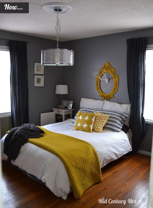 19 Shocking Bedroom Remodeling Joanna Gaines Ideas Remodel Bedroom Yellow Bedroom Decor Guest Bedroom Remodel