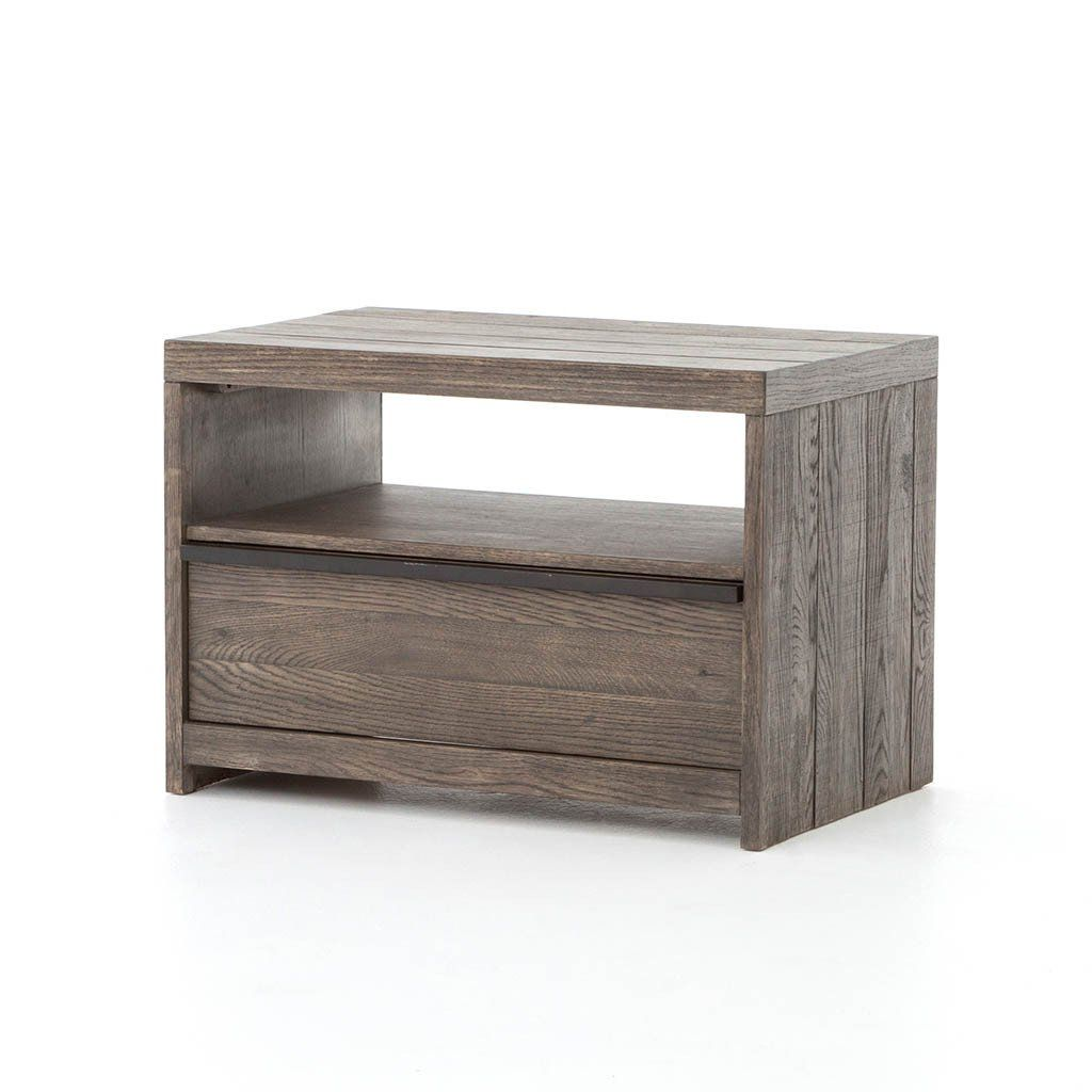 Low Wide Nightstand | Dressers, Drawers & Bedroom Storage ...